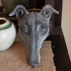 Sarah regan Snavely   Greyhound mask sculpture #9