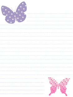 {free} printable spring stationery