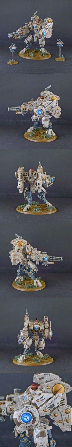 Tau XV104 Riptide Battlesuit