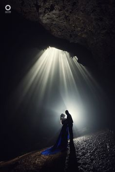 Whatever our souls are made of, his and mine are the same. . . Courtesy from Pre Wedding of Joni @mybigfatbelly & Priscilla @prizangelina. Location Jomblang Cave, Wonosari Yogyakarta. Photograph by @si.rv Gown by @wiramapratama Check our website for the other photos at www.alvinphotography.co.id