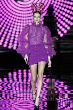 Fashion,Beauty,Landscape,Home Designe,Sexy Girls. Shades Of Purple, Green And Purple, Magenta, Andres Sarda, Luxury Lingerie, Fashion Lingerie, All Things Purple, Purple Fashion, Fashion Photography