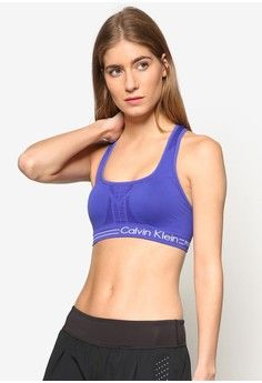 Medium Impact Bra With Removable Cu from Calvin Klein in purple_1
