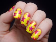 China Glaze Summer Neons Nail Art: Starfish Manicure (+ Tutorial)