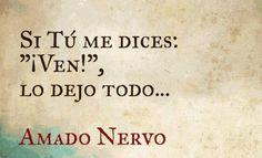 Las 10 frases más románticas de Amado Nervo | De10 Miss You Already, Love You, My Love, Book Quotes, Life Quotes, Gabriel Garcia Marquez, Kahlil Gibran, Romance And Love, Spanish Quotes