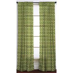Found it at Joss & Main - Charlotte Ikat  Rod Pocket Single Curtain Panel