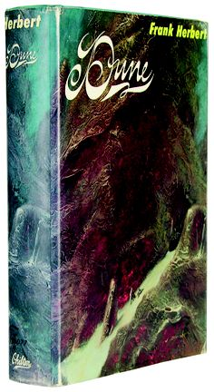 Yes, science fiction nerds, here's the first edition of Dune by Frank Herbert from 1965.
