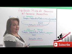 Liquidación de Prima Para el Servicio Doméstico en Colombia - YouTube Youtube, Education, Colombia, Onderwijs, Learning, Youtubers, Youtube Movies