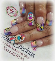 Piercing, Manicure, Nail Designs, Vintage, Beauty, Pretty Nails, Polish Nails, Drawings, French Manicures