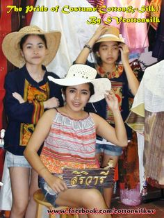 "Clothing made ​​from cotton yarn of global warming help the rural poor. Creativity is the band ""SIRIVAREE"" clothing, cotton and silk. Clothing for the pride of Thailand and ASEAN."