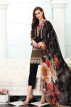 Elegant Black 3 piece ready to wear pret dress by So Kamal casual collection #springcollection #spring #readytowear #pretwear #unstitched #online #linen #lawncollection #linen #linencollection #chiffon #cotton #embroidered #printed #digital #lahore #karachi #islamabad #newyork #london #pakistan #pakistani #indian #alkaram #limelight #nishat #khaddar #daraz #gulahmed #blackfriday #pakistani_dresses #best_price #indian_dresses #eid #eiddresses #eidcollection