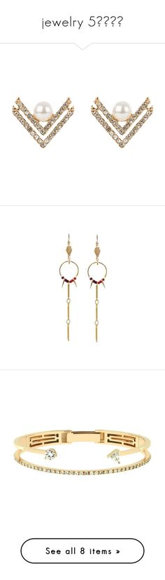 """jewelry 5✨"" by krystalyuke ❤ liked on Polyvore featuring jewelry, earrings, yellow gold earrings, white pearl earrings, gold pearl earrings, gold earrings, white gold pearl earrings, drop earrings, pendant earrings and beaded drop earrings"