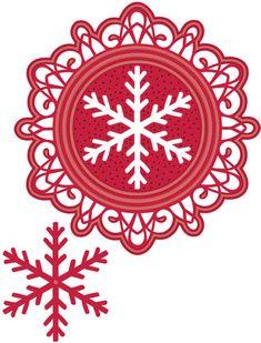 Sue Wilson Christmas Dies - Bold Snowflake Frame