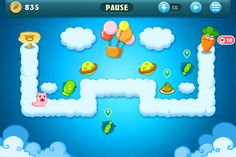 Carrot Fantasy #iPhone #Game #Towerdefense