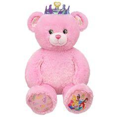 $23.00 16 in. Disney Princess Bear - Build-A-Bear Workshop US