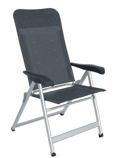 Mejor silla del año en Holanda por KCK. Best chair of the year in Holland Crespo. Mod. Al-237 Sillón plegable aluminio reforzado y tejido multifibra. Folding reinforced aluminium armchair and multifiber fabric