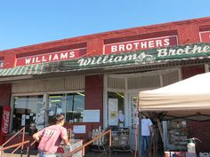 Williams Brothers Store, Philadelphia, MS An eclectic mix of old general store And the latest trends in fashion.