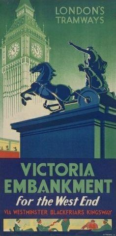 London Tramways - Boudica. #london #underground #tube #subway #metro #posters