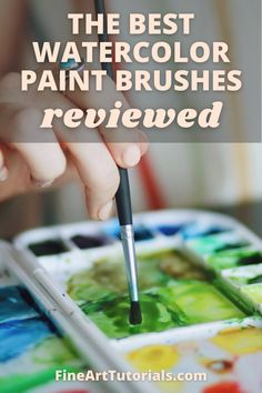 In this guide, I'll show you some outstanding options for painting and some brushes that are more budget friendly too. Find out about the different kinds of brush filaments, shapes and sizes available to watercolour painters and how they perform. Choose the best watercolour brushes for your painting practice. #watercolorbrush #bestwatercolorbrush #watercolorpaintbrush #watercolorpaintbrushreview #watercolorbrushes #watercolor #watercolorpainter #watercolorpainting #watercolourist #art Best Watercolor Brushes, Watercolor Tips, Watercolour Tutorials, Watercolour Painting, Art Tutorials, Painting Tutorials, Learn To Paint, Your Paintings, Paint Brushes