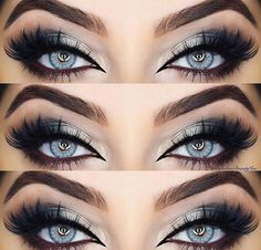 Best Ideas Of Makeup For Blue Eyes The ideal makeup for blue eyes is the one that involves the shades that can enhance their beauty.The ideal makeup for blue eyes is the one that involves the shades that can enhance their beauty. Blue Eye Makeup, Eye Makeup Tips, Smokey Eye Makeup, Makeup Hacks, Eyeshadow Makeup, Makeup Brushes, Beauty Makeup, Makeup Ideas, Eyeshadow For Blue Eyes