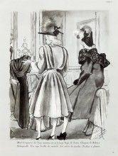 Bernard Blossac 1943 Schiaparelli, Mad Carpentier, Charles Montaigne, France Obré, Rose Descat, Reboux, Gabrielle