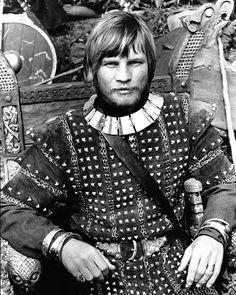 Michael York as Guthrum the Dane.