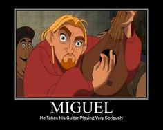 The Road to El Dorado- Miguel getting serious!
