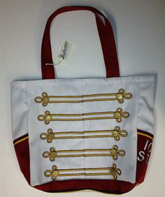 Marching Bags - makes me miss band! Would've been a killer tote (in blue & yellow) for football games