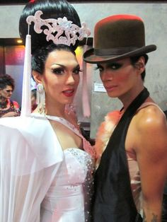 Manila Luzon (Karl Westerberg) & Raja Gemini (Sutan Amrull) [RuPaul's Drag Race, Season 3]