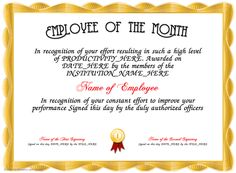 employee of the year certificate template koni polycode co