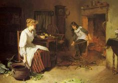 British Paintings: Carlton Alfred Smith - Pot luck