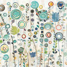 Ocean Garden I Square Art Print at AllPosters.com