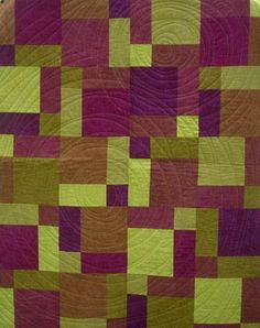 Chop Suey  FREE pattern with purchase of an 8-step gradation of hand-dyed fabrics from Cherrywood Fabrics.  http://chefab.cherrywoodfabrics.com