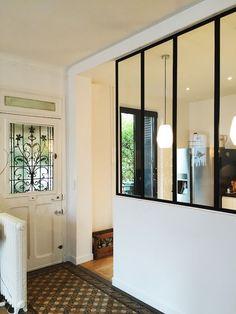 La verrière, apporte une touche moderne et industriel aux maisons les plus classiques