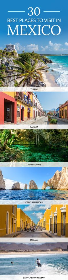 Discover the Best Places to Visit in Mexico. Find the best things to do and see in #Mexico with the help of our travel guide.