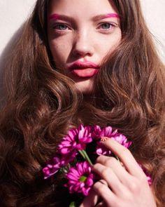 Arisha Kriukova by Fernando Gomez for Vogue Ukraine May 2017