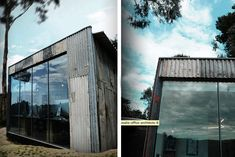Branch Studio's Recycled Corrugated Iron Workspace Ages Gracef...