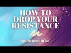 Law Of Attraction Youtube, Get Happy, Abraham Hicks, The Creator, Journey, Drop, Motivation, Lifestyle, Watch