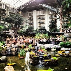 Gaylord Opryland in #Nashville - as a kid,, this was the best hotel I had ever stayed in!