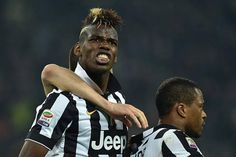Paul Pogba Photos - Paul Pogba of Juventus FC celebrates after scoring the opening goal during the Serie A match between Juventus FC and US Sassuolo Calcio at Juventus Arena on March 2015 in Turin, Italy. - Juventus FC v US Sassuolo Calcio Juventus Fc, Paul Pogba, Man United, Turin, Jeep, Chelsea, Soccer, The Unit, Football