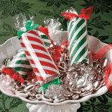 Handmade Christmas Gifts - Paper Roll Candy Gift Tubes