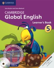 Cambridge Global English Learner's Book with Audio CD 5 -Cambridge University Press IBSOURCE