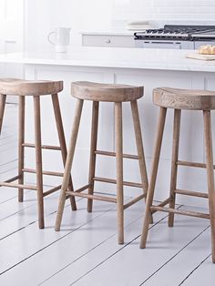 Charmant Our Simple, Elegant Stool Is Beautifully Crafted From Weathered Oak With A  Carved Seat For