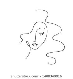 Abstract Face Art, Abstract Drawings, Mini Drawings, Art Drawings, Art And Illustration, Arte Inspo, Face Line Drawing, Trippy Painting, Minimalist Art