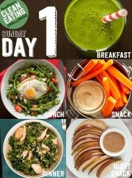 Clean Eating Challenge Feel Like A Champion Anyone want to do this with me Unfortunately I need accountability Sarah Hassett Sarah Orr Lunch Snacks, Healthy Snacks, Healthy Recipes, Eat Healthy, Healthy Detox, Healthy Cooking, Easy Detox, Night Snacks, Healthy Breakfasts