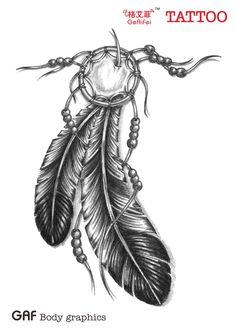 tatuagens penas - Pesquisa Google