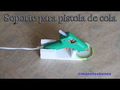 Soporte para la pistola de cola termofusible | Tutorial DIY