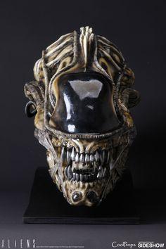 Alien Warrior Life-Size Head