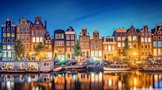 Amsterdam Aglow, Beautiful Gleaming Rhythmic Pattern in a Row  | { Pattern & Print Bazaar - Series 10: 10/20