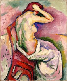 'Seated Nude', 1906 - Georges Braque
