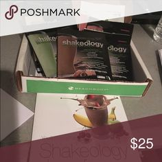 Shakeology packets Shakeology sample box. Usually comes with 4 flavors. I have 7 flavors which include 2 Vanilla, 1 Greenberry, 1 Chocolate, 1 Tropical Strawberry Vegan and 2 Strawberry. Beachbody Other